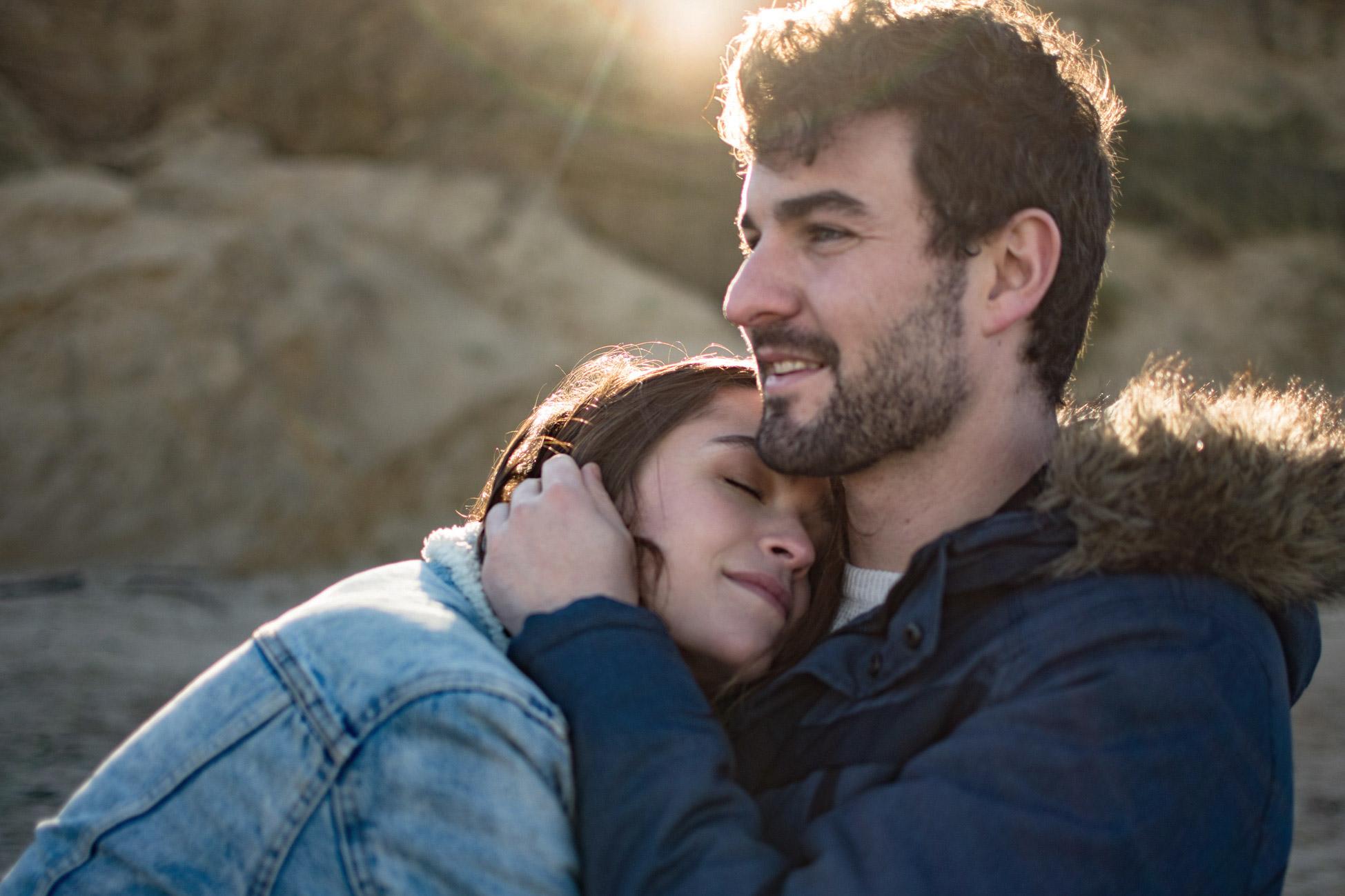 Sesión de fotos de pareja en Santander
